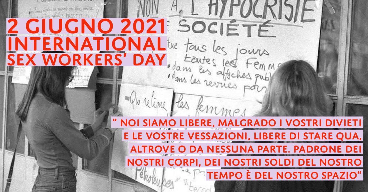 2GIUGNO2021 INTERNATIONAL SEXWORK DAY